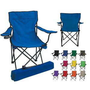 Folding Camping Chair Portable Fishing Beach Outdoor Collapsible Chairs
