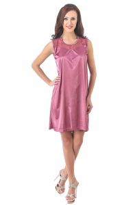 Fasense Women Stylish Satin Nightwear Sleepwear Short Nighty Dp078 A