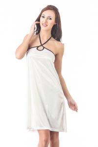 Rcpc,Kalazone,Jpearls,Fasense,Shonaya,Valentine,Bikaw,See More Women's Clothing - Fasense Women Stylish Satin Nightwear Sleepwear Short Nighty DP081 C