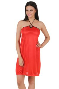 Fasense,Gili,Arpera,Port,Oviya,Pick Pocket,Diya Women's Clothing - Fasense Exclusive Women Satin Nightwear Sleepwear Short Nighty DP081 F