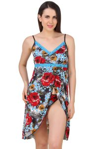 Fasense Exclusive Women Serena Nightwear Sleepwear Short Nighty With Thong,