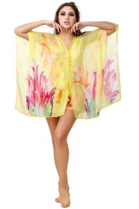 Fasense Floral Printed Multi Beachwear Cover Up MM005 C