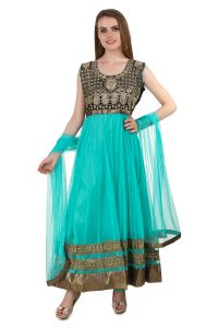 Fasense Women's Clothing - Fasense Women Ethinic Wear Readymade Anarkali Salwar Suit VG083 B