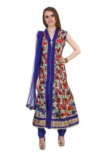 Fasense Women's Clothing - Fasense Women Ethinic Wear Readymade Anarkali Salwar Suit VG092 B
