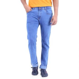 Stylox Light Blue Jeans For Men (product Code - Dnm-lb-s-a1001)