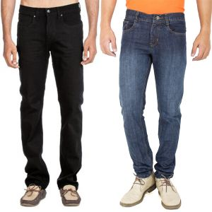 Jeans (Men's) - Stylox Set Of 2 Denim jeans for men _code(3.1_3)