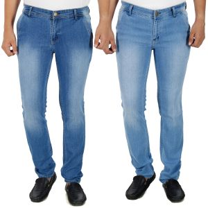 Jeans (Men's) - Stylox Set Of 2 Mens Shaded Slim Fit Jeans (Product Code - DN-2CMBO-2026-27)