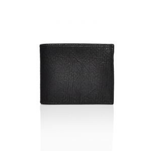 Mens Black Wallet [stx101]