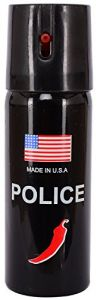 Self Defense Accessories (Women's) - POLICE Pepper Spray Triple action High Intensity