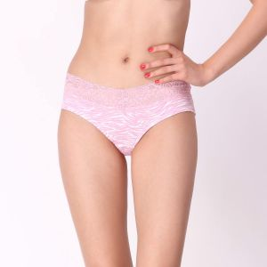 Triveni,Pick Pocket,Jpearls,Cloe,Avsar Women's Clothing - Cloe Cotton Comfy Panty In Baby Pink PN0188R62
