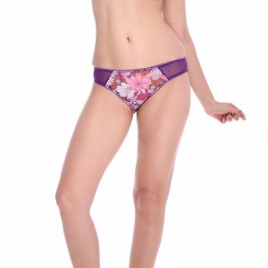 Asmi,Sukkhi,Sangini,Lime,Cloe Women's Clothing - Cloe Chic Stretchable Printed Mesh Panty PN0207Q12