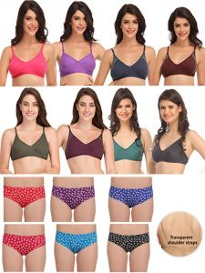 Clovia,Cloe Women's Clothing - Pack of 15 Clovia Bra & Panty Set