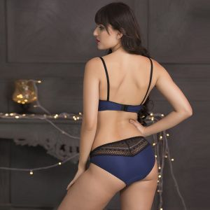 Triveni,My Pac,Clovia,Oviya Women's Clothing - Set of Bra-Bikini & Babydoll-Thong by Clovia (Code - NSC613C08)