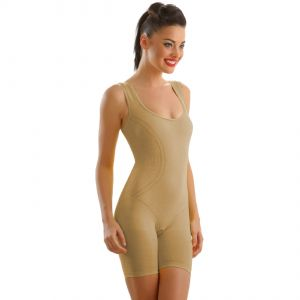 Clovia Personal Care & Beauty - Long Leg Shaping Body Suit In Nude