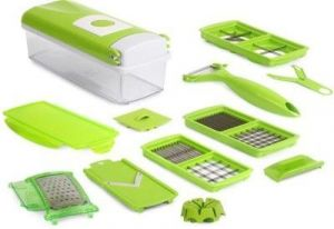 Globalepartner All In One Vegetable And Fruit Slicer Chopper