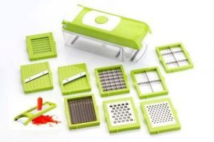 Kitchen Accessories - Jelly8 All In One Vegetable Slicer Chopper