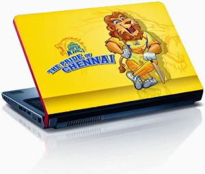 Chennai Super Kings Cricket Laptop Skin - Lp0401