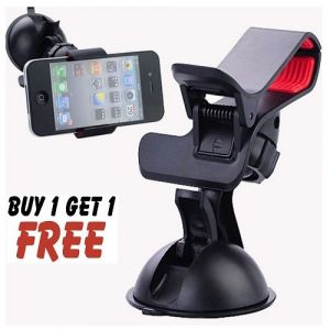 Hands-free Multifunction Car Steering Mobile Phone Holder Buy 1 Get 1 Free