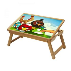 Animals Multipurpose Foldable Wooden Study Table For Kids - Study 1008