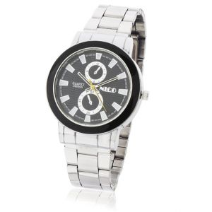 Mens Stylish Wrist Watch Steel Belt Mw1700