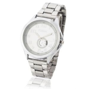 Mens Stylish Wrist Watch Steel Belt Mw1707