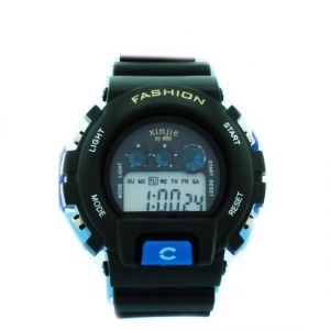 Mens Wrist Watch Fiber Belt Digital - 02