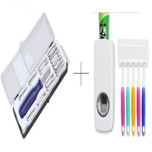 Buy Automatic Toothpaste Dispenser With Free Jackly 16 In 1 Screwdriver Toolkit - 16pctdis