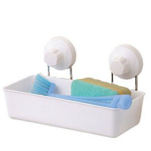 Shopper52 Portable Suction Storage Shelf For Bath And Kitchen - 1958sgsk