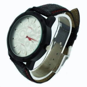 Designer Mens Stylish Leather Belt Wrist Watch - 01