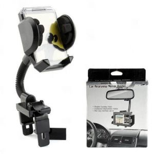 Car Rearview Mirror Holder Stand Mount Dock Support For iPhone 3G 3gs 4 4s