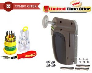 Special Combo Offer! Jackly 31 In 1 Screwdriver Set Wall Picture Tool