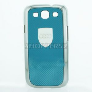 Designer Plastic Back Hard Case For Samsung Galaxy S3 I9003 Red