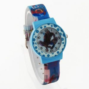 Designer New Childrens Kids Fiber Belt Watch - Jr243