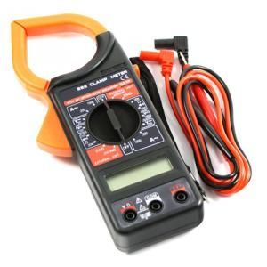 Digital Clamp Meter AC/DC Multimeter Electronic Tester Meter - DT266