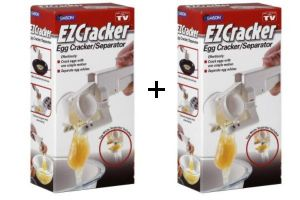 Buy 1 Get 1 Free Ez Cracker, Egg Cracker Cracks Easy To Handle