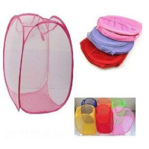 Easy Laundry Clothes Flexible Hamper Bag With Side Pocket - Esylndybg
