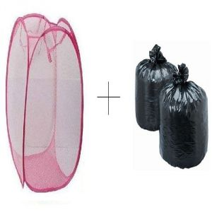 Buy Small Laundry Bag With Free Disposables Garbage Bag 90 PCs - Esysgrb90