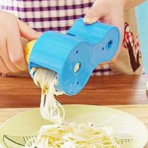 Multifunction Double Helix Spiral Cutter Sharpener Sharpener Planer Cut Filter Wheel For Kitchen - (code- Hh2265)