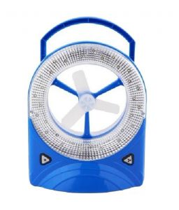 Home Utility Gadgets - Jy Jumbo Super Rechargeable Fan Torch With 32 LED Light