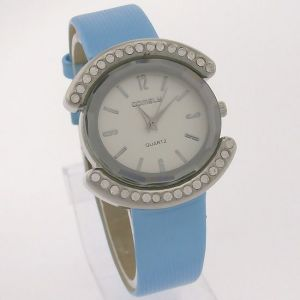 Ladies Diamonds Leather Belt Wrist Watch Lw1467