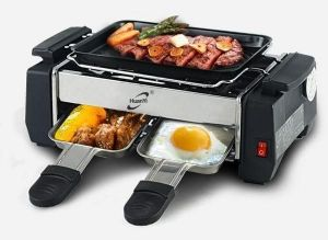 Inindia All In One Mini 2-plate Electric Barbeque