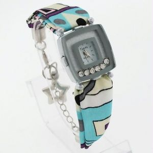 Ladies Nylon Belt Wrist Watch Lw1832