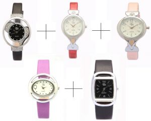 Diwali Special Combo Offer!!! For Five LR Analog Watch For Women - LWCM011