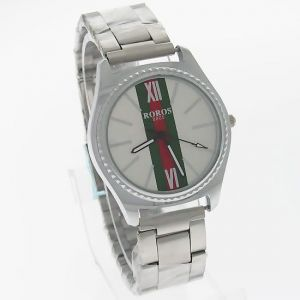 Mens Stainless Steel Belt Wrist Watch Mw0851-2