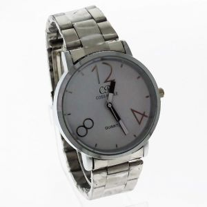 Mens Stainless Steel Belt Wrist Watch Mw1096-3