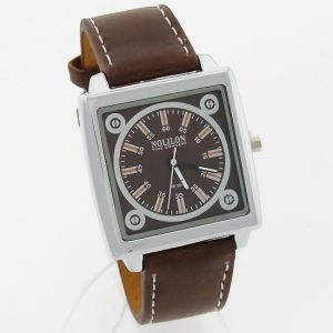 Mens Leather Belt Wrist Watch - Mw0974