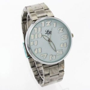 Mens Stainless Steel Belt Wrist Watch - Mw1155