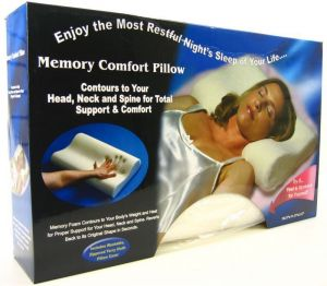 Pillows - Original Memory Foam Cloud Pillow Pain Relief