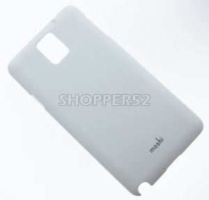 White Samsung Galaxy Note 3 N9000 Moshi Matte Plastic Hard Back Case
