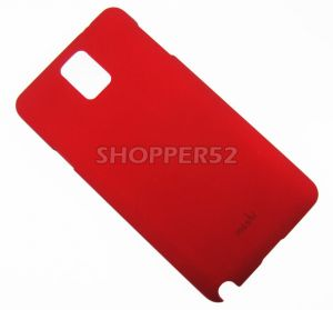 Red Samsung Galaxy Note 3 N9000 Moshi Matte Plastic Hard Back Case
